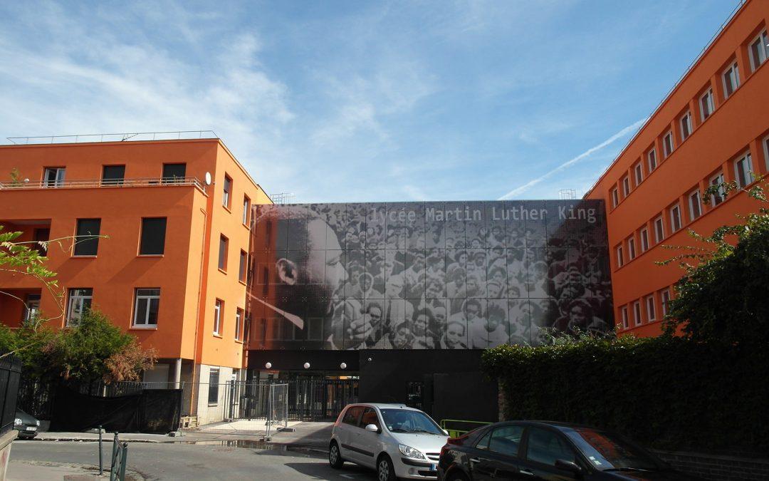 Restructuration de l'établissement Martin Luther King